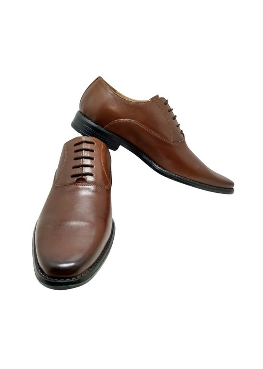Brown color Formal Shoes . Formal Men's Leather Classic Shoes -