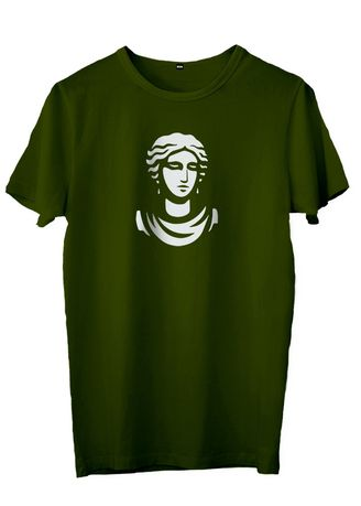 Green color T-Shirts and Polos . JESNIG.ID - KAOS ANCIENT LADY -