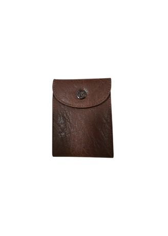 Brown color Other . Oxhide Leather 24 Cards Holder -