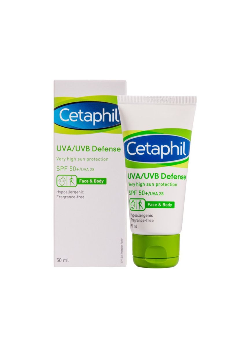 No Color color Moisturizers . Cetaphil UVA-UVB Defense SPF 50,-50 ML -