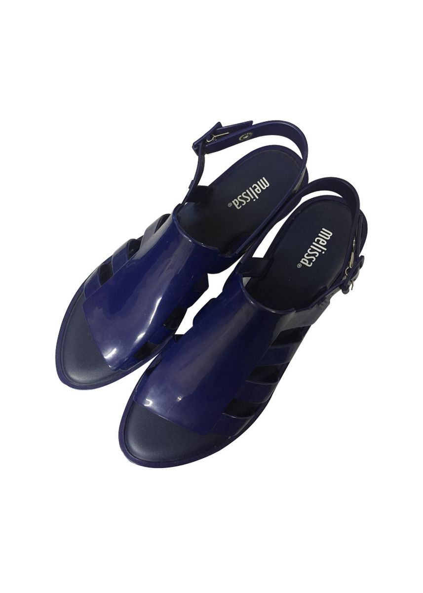 Navy color Sandals and Slippers . Melissa Boemia Sandals -