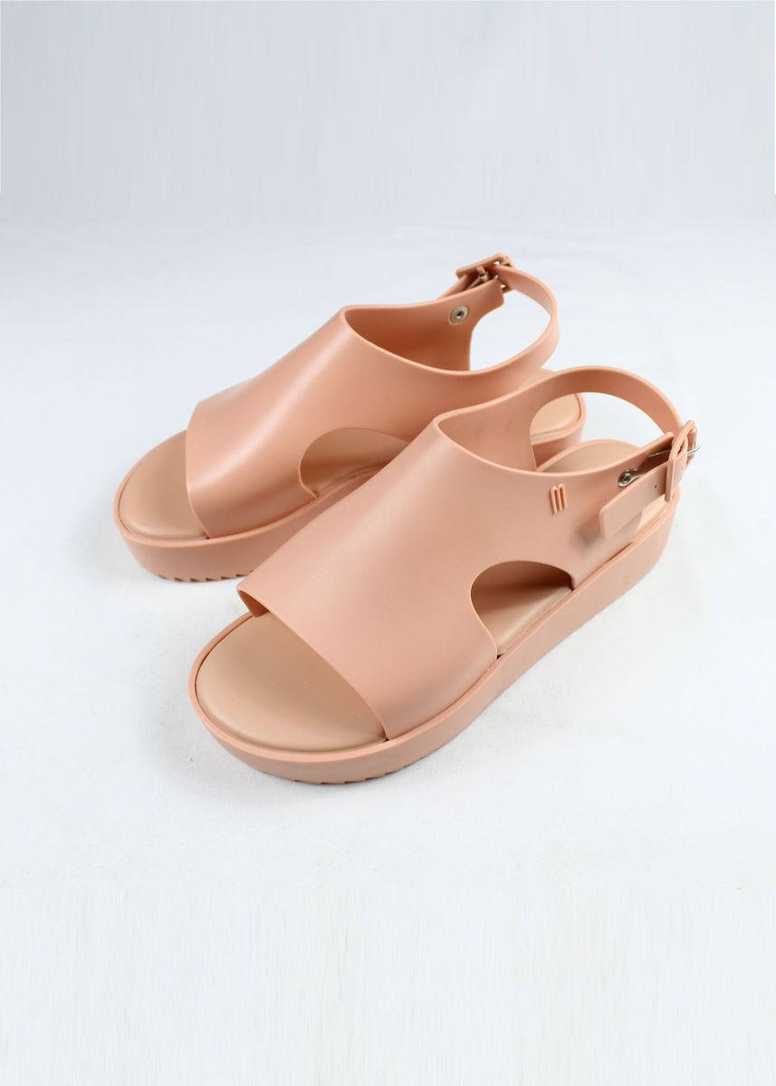 Pink color Sandals and Slippers . Melissa Hotness Sandals -