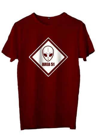 Maroon color T-Shirts and Polos . JESNIG.ID -KAOS AREA 51 -