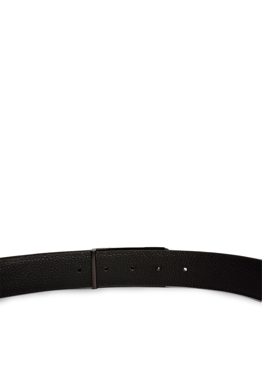 Black color Belts . GINO MARIANI BELT DELZYO BLACK -