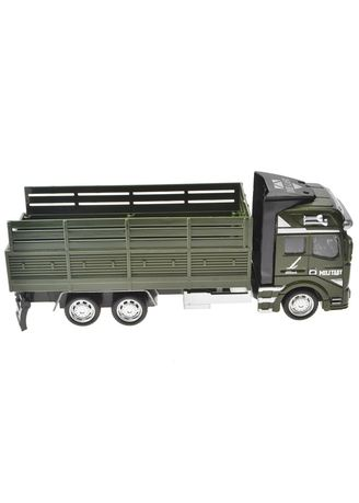 Green color Toys . Truck -