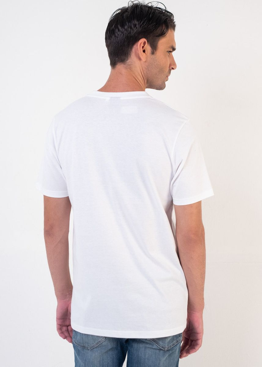 White color T-Shirts and Polos . Moutley Men Tshirt 160720 -