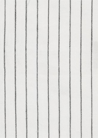 White color  . Organic Cotton, Yarn Dyed Stripes -