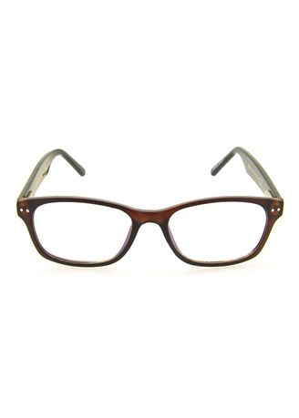 Brown color Frames . AXN Unisex Square Anti-Radiation Computer Glasses -