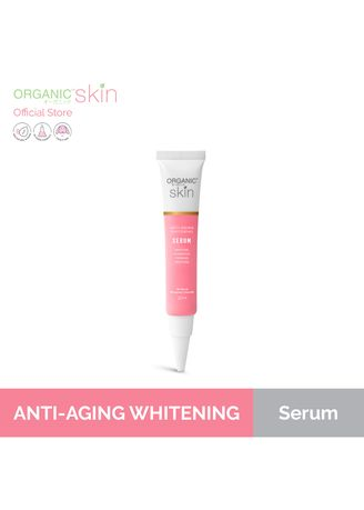 No Color color Serum & Treatment . Organic Skin Japan Anti Aging Whitening Repair Serum With Vitamin C & Marine Collagen, 20ml -