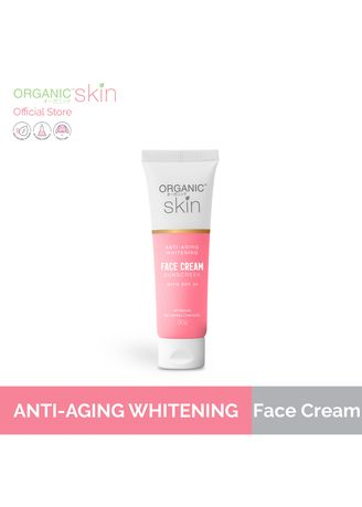 No Color color Anti-aging . Organic Skin Japan Anti Aging Collagen Whitening Face Cream With SPF 30, 30g -