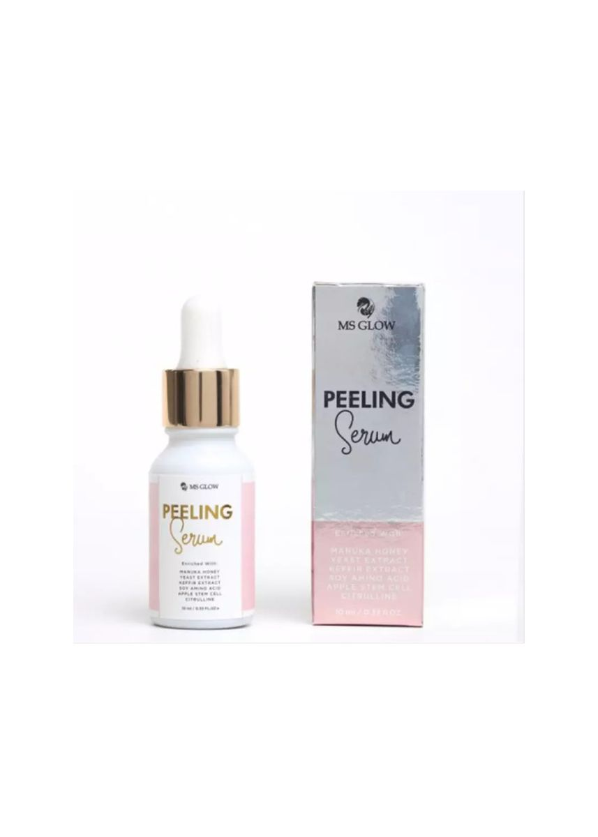 Tidak Berwarna color Enhancement & Treatments . MS GLOW Peeling Serum -