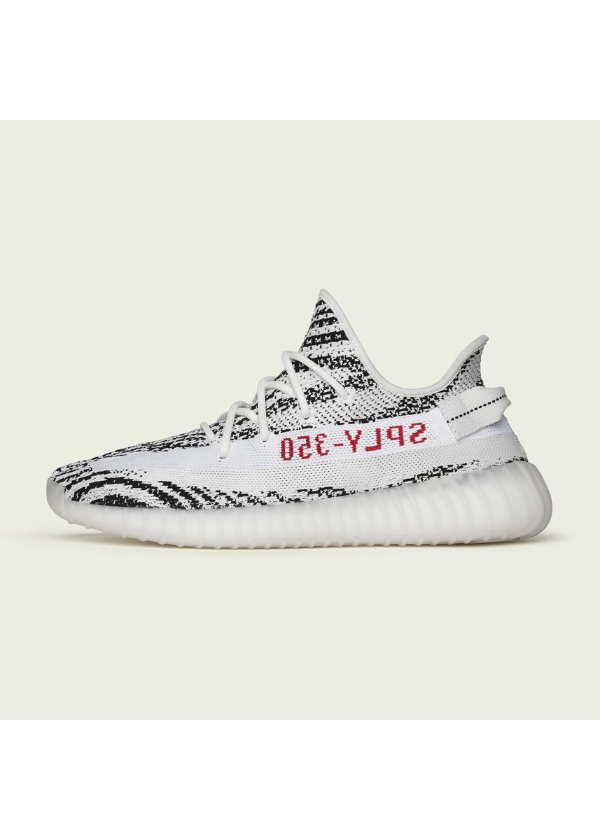 White color Casual Shoes . Yeezy Boost 350 V2 Zebra Shoes -