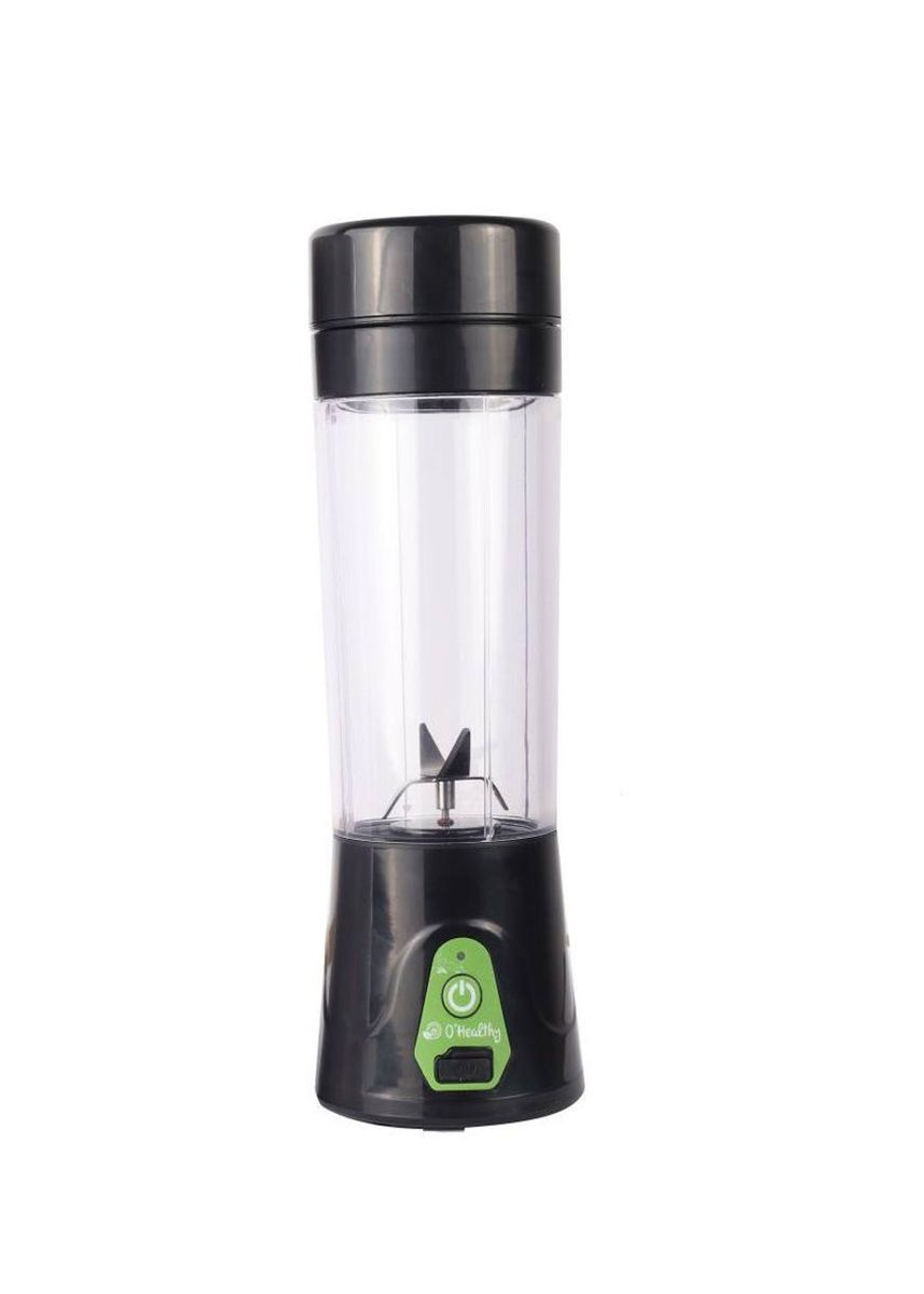 Black color  . O'Healthy Portable Wireless USB Electric Juicer -