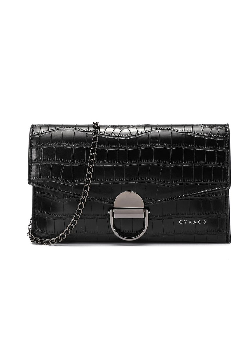 Black color Wallets and Clutches . GYKACO JACE - Dompet & Clutch Wanita - Fashion Wallet & Clutch -