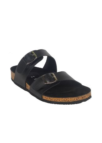 Black color Sandals and Slippers . Xander FullBlack Sandal Jepit Strap Pria Casual Santai Outdoor -