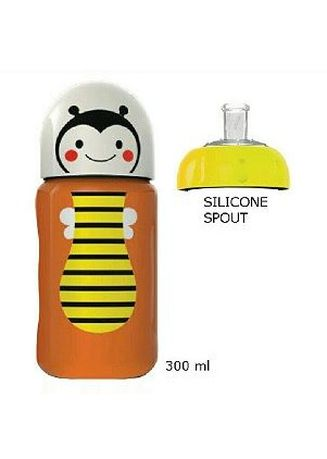 Brown color Sipper & Mugs . Baby Safe Bottle Silicone Spout SK005 Botol Minum Anak Sippy Cup - Bee -