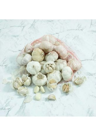 No Color color Vegetables . Bawang Putih Pack 500 Gr -