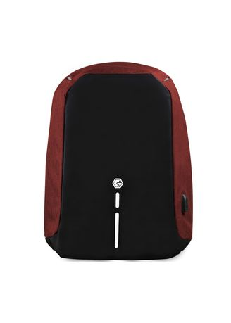 Red color Backpacks . Gearguard Anti-Theft Bag -