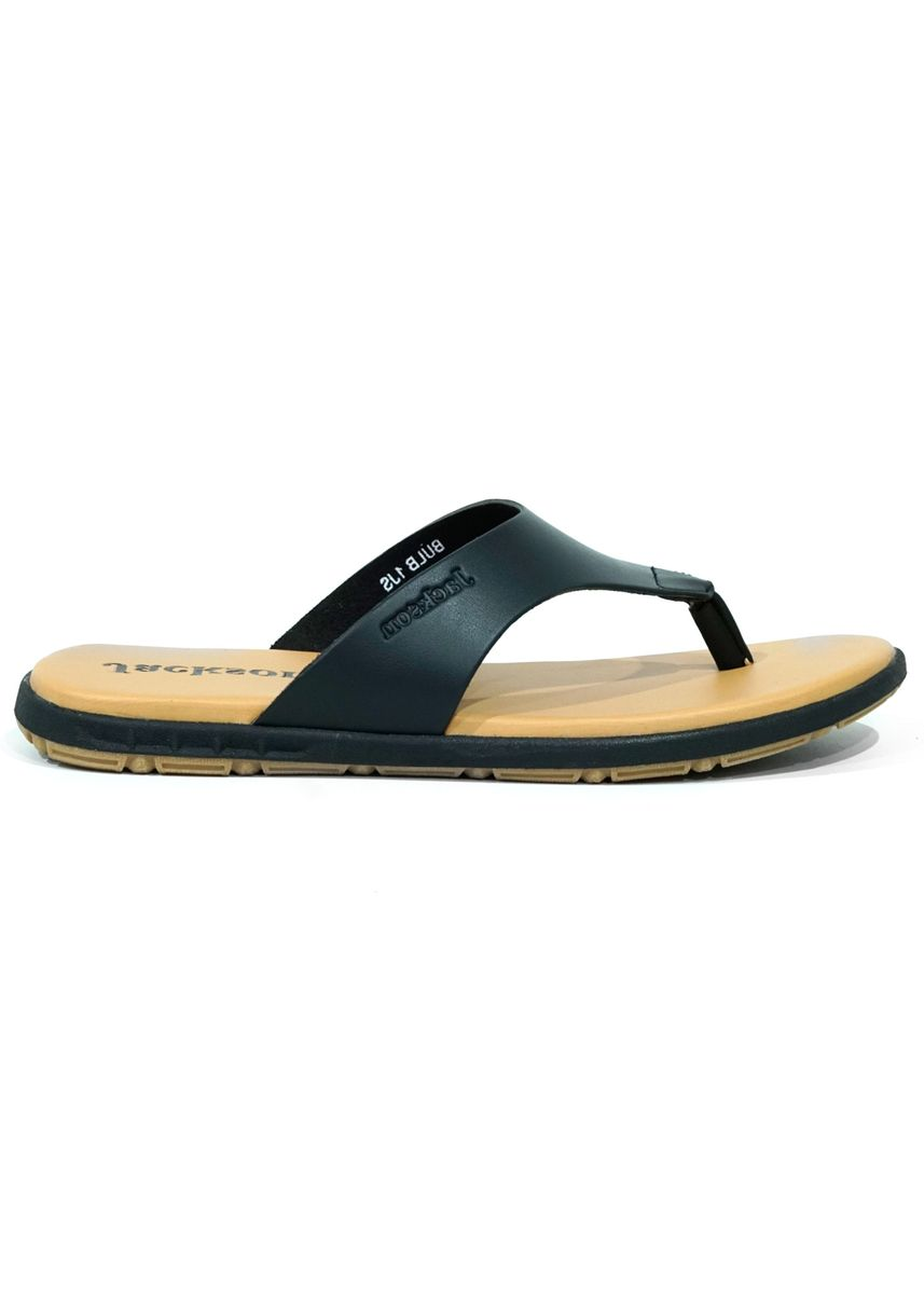 Black color Sandals and Slippers . JACKSON Bulb 1JS -
