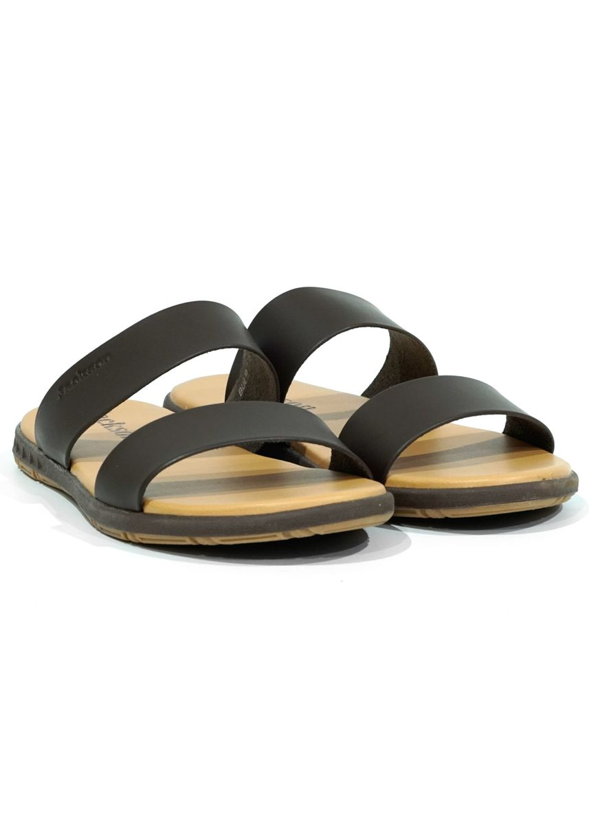 Brown color Sandals and Slippers . JACKSON Bulb 2JS -