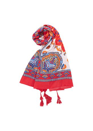 Multi color Scarves . Stylesource Buenos Aires Scarves Multi LS304  -
