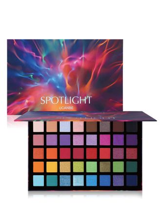 Multi color Eyes . 40 Colors Pearly Matte Eyeshadow Palette -