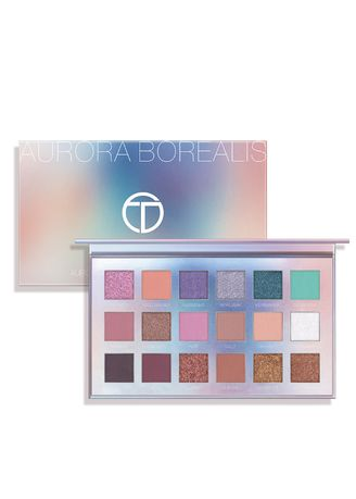 Multi color Eyes . 18 Colors Northern Lights Palette Pearlescent Matte Eyeshadow -