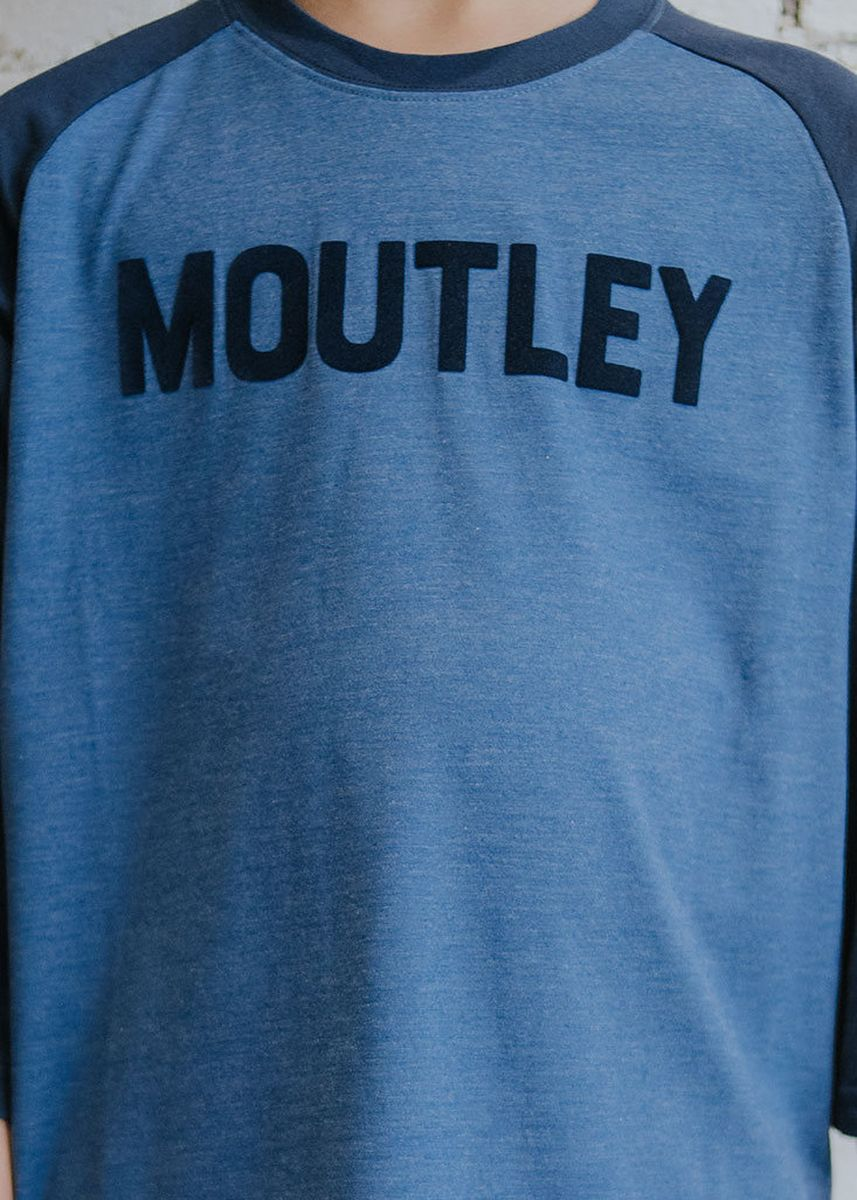 Blue color Tops . Moutley Boys Tshirt 010420 -