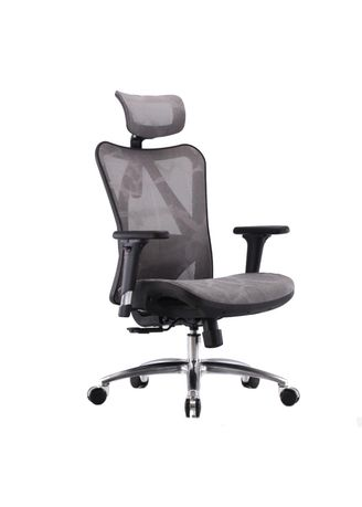 Grey color Chairs . Ergonomic Chair M57-006 -