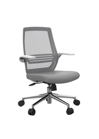 Grey color Chairs . Ergonomic Chair M76 -