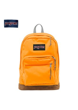 Yellow color Backpacks . JANSPORT กระเป๋าเป้ รุ่น TYP701E RIGHT PACK - ORANGE GOLD -