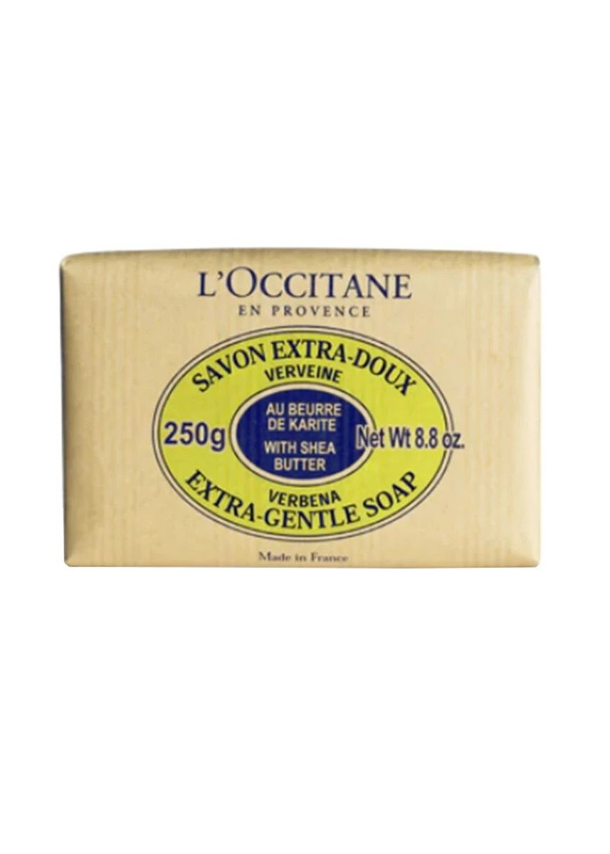 No Color color Body Bars . L'OCCITANE Shea Butter Extra Gentle Soap Verbena 250g -