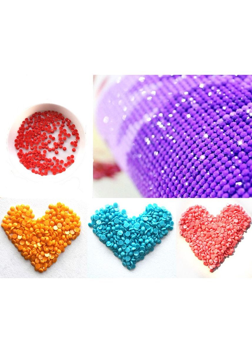 Multi color Home Decor . DIY 5D Plastic Diamond Woodpecker Paint -