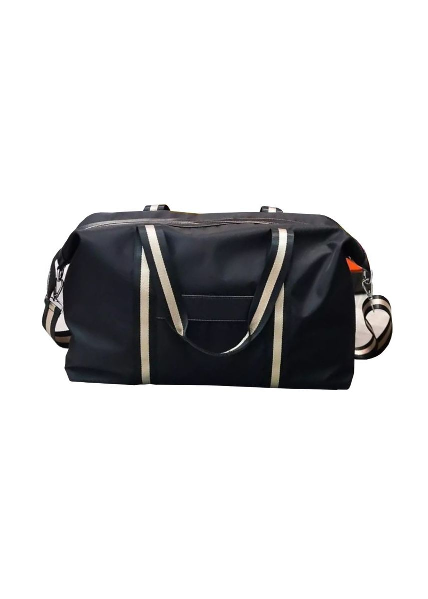 Black color Travel Accessories . Holdall Overnight Travel Duffel Bag -