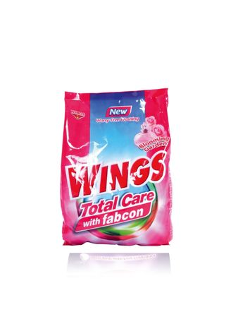Laundry . Wings Total Care with Fabcon Blooming Garden (1kg) 12 Pieces/Box - Set of 12 - 12 Pieces/Box