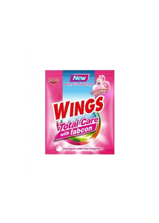 Laundry . Wings Total Care with Fabcon Blooming Garden (52g) 150 Pieces/Box - Set of 150 - 150 Pieces/Box
