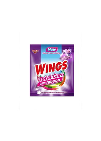Laundry . Wings Total Care with Fabcon Lavender Dream (52g) 150 Pieces/Box - Set of 150 - 150 Pieces/Box