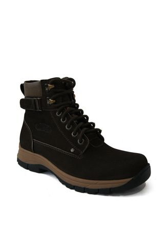 Brown color Boots . Log Oak Coffee -