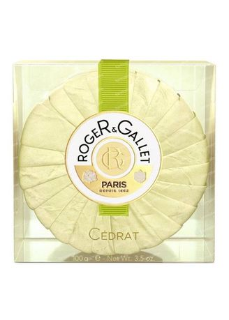 Yellow color Body Bars . Roger And Gallet Cedrat Perfumed Soap 100G -