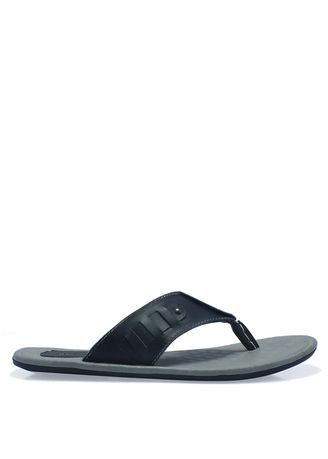 Sandals and Slippers . Leather Sandals Danis-1 in Black -