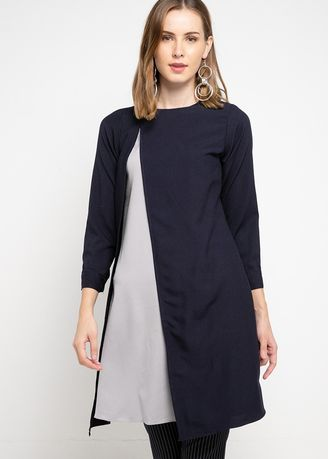 Navy color Dresses . PURICIA DRESS SIFABELLA -