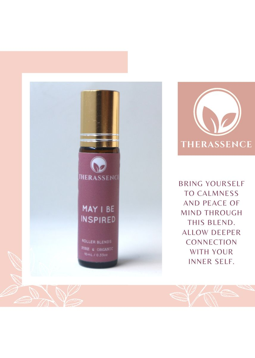 No Color color Personal Care . May I Be Inspired Therassence Roller Blends 10ML -