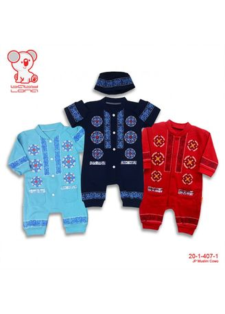 Blue color Sets . Jumpsuit Muslim -