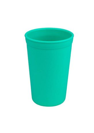 Cyan color Barware . Re-Play Recycled Tumbler Drinking Cup 10oz BPA BPS Free -