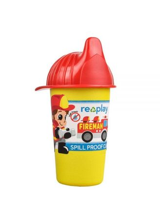 Red color Sipper & Mugs . Re-Play Fireman No Spill Sippy Cup BPA BPS Free  -