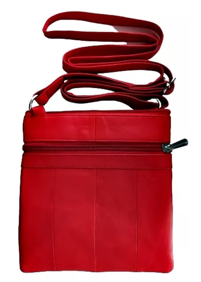 Red color Messenger Bags . Victorian Territory - Full Grain Leather Crossbody Unisex- Style 1027 -