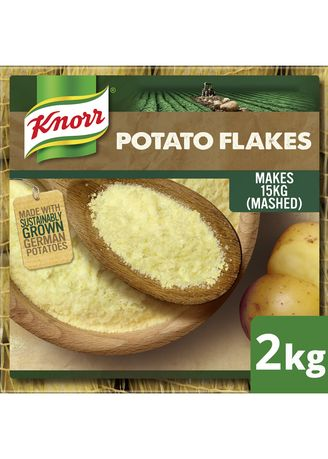 No Color color Bouillon, Stock & Flavored Seasoning . Knorr Mashed Potato Flakes 2kg -