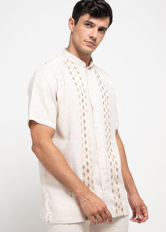 Beige color T-Shirts and Polos . HASSENDA MAN KOKO CHANDES -