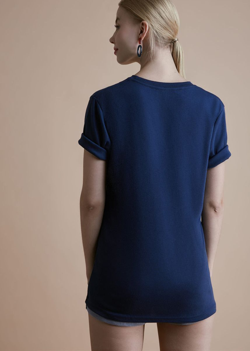 Navy color Tees & Shirts . Blacklie Sleeve Tee -