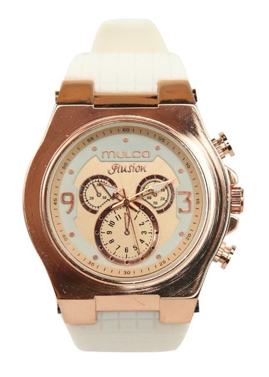 Putih color Jam Analog . Mulco Flusion Watches -